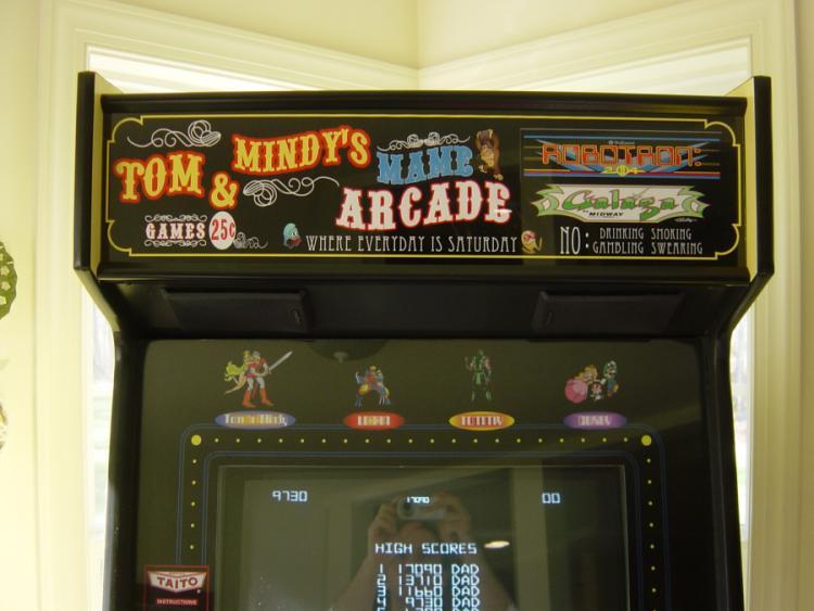 Arcade Nut Home Page